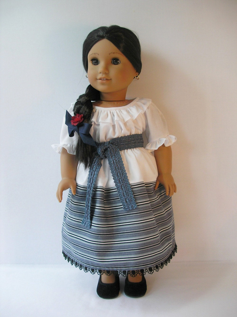 182410810 american girl josefina 18 inch doll dress by terristouch. Black Bedroom Furniture Sets. Home Design Ideas