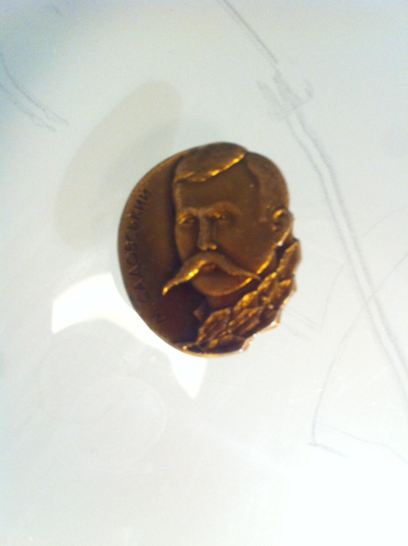 Vintage brooch pin badge ukraine soviet antique retro unisex