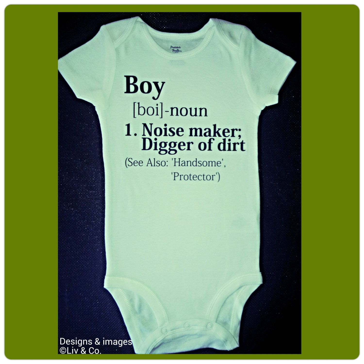 Baby Boy Gift Clothes : Funny baby boy clothes bodysuits by