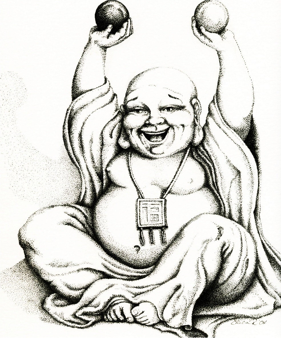 Buddha Drawings Pictures Top Happy Images For Pinterest Tattoos