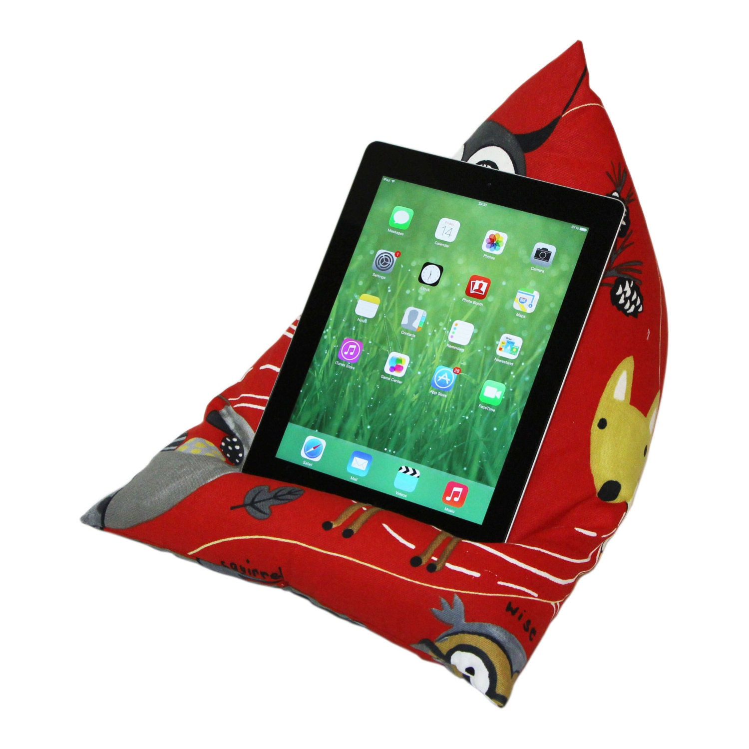 iPad / Tablet Cushion Stand Pillow Holder by eBeanCushions