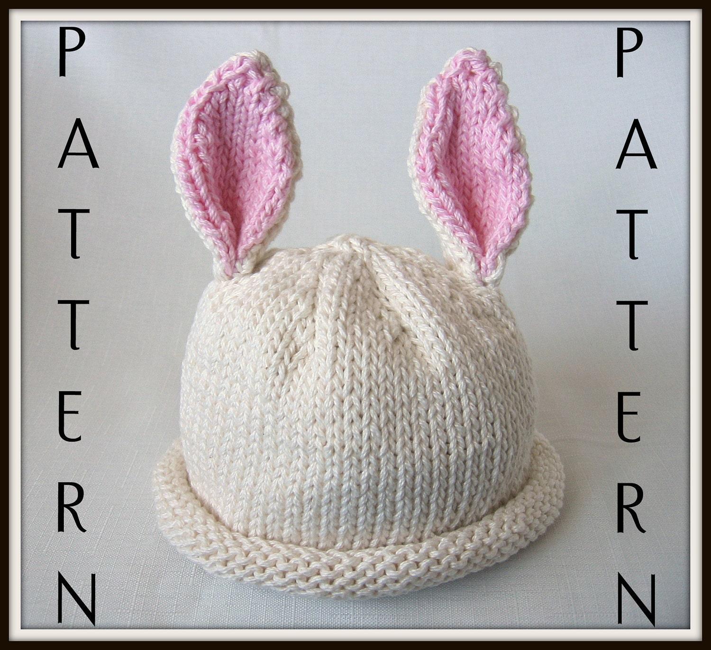 Easy rabbit hat pattern knit bankloansurffo Choice Image