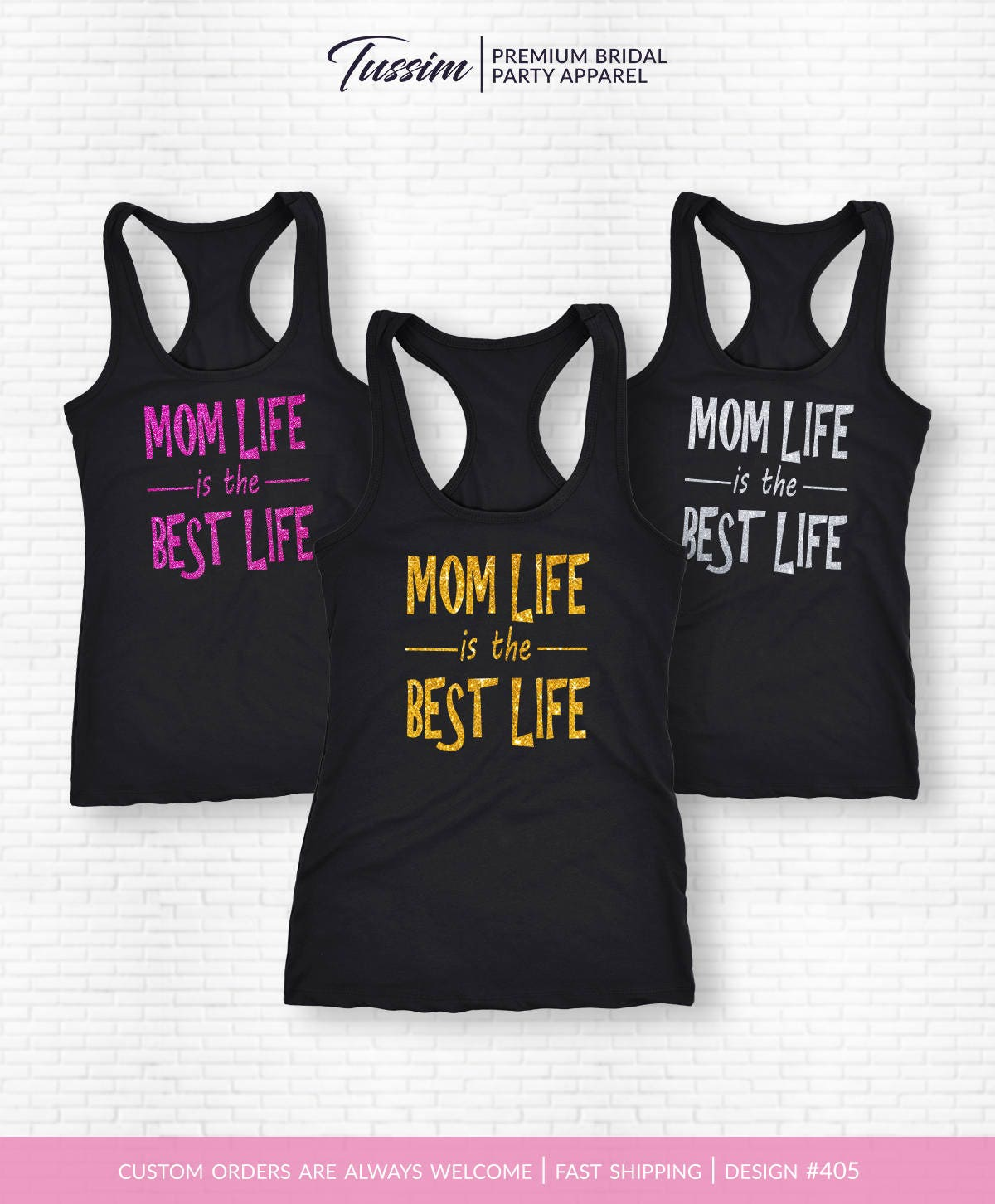 Mom Life Is The Best Life Shirt Mom Life Is The Best Life Tank Top Womens TShirt Gift for Mom Mom BirthdayMom Life Tank Top