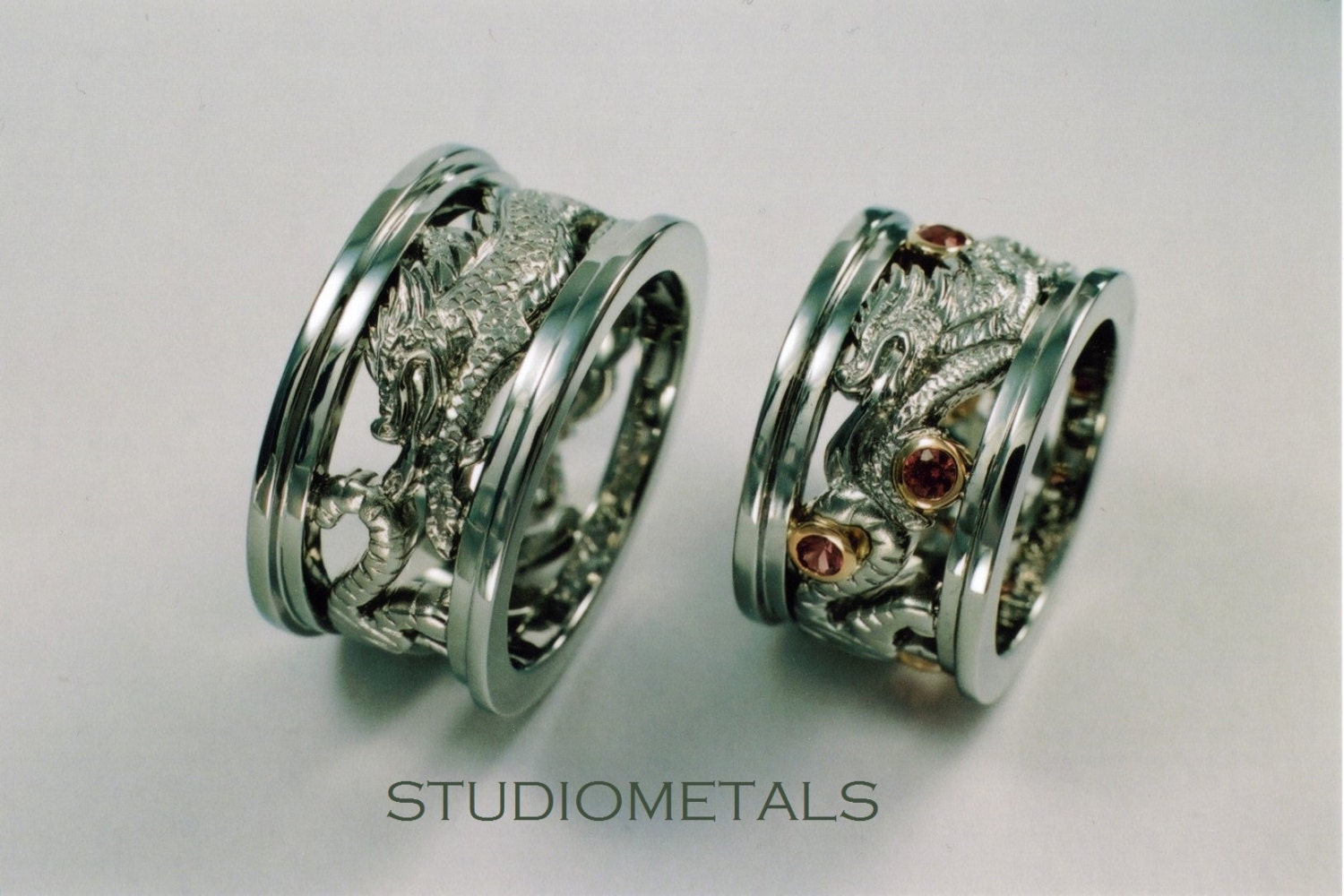 personalized chinese zodiac rings wedding rings by With chinese wedding ring