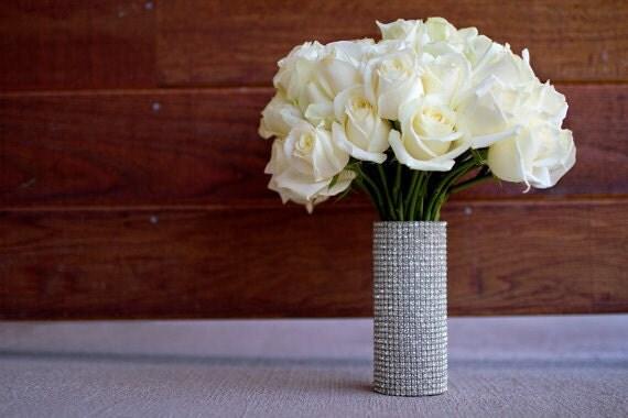 MEDIUM Rhinestone Bridal Bouquet Holder