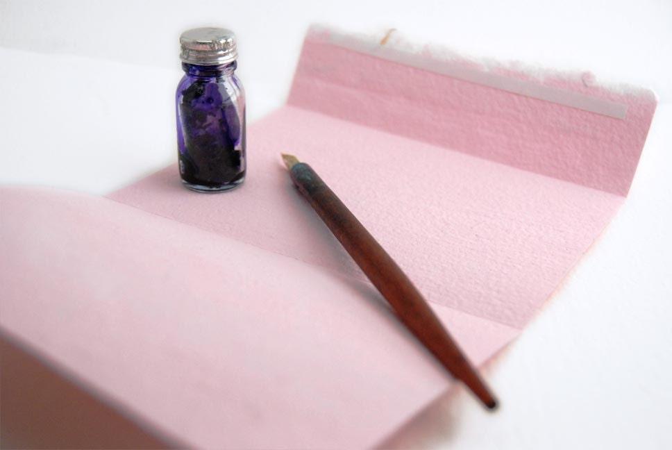Pink Stationery Set