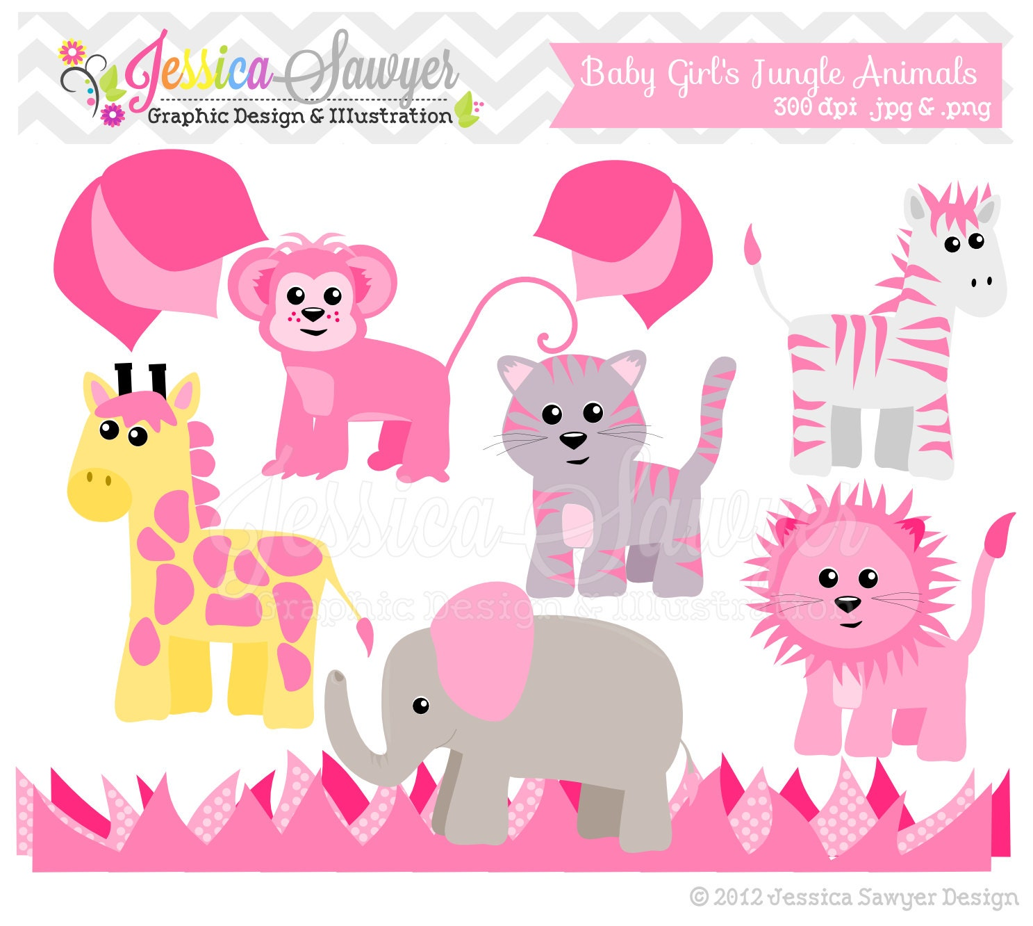 INSTANT DOWNLOA... Free Clipart For Baby Showers For Girls