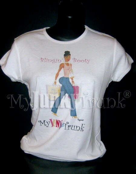 Blingin Booty- African American Graphic Tee