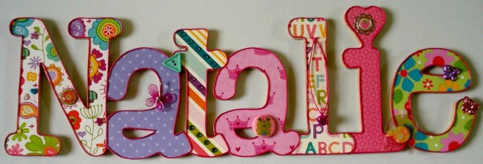 Letras decoradas de nombres imagui - Letras decoradas infantiles ...