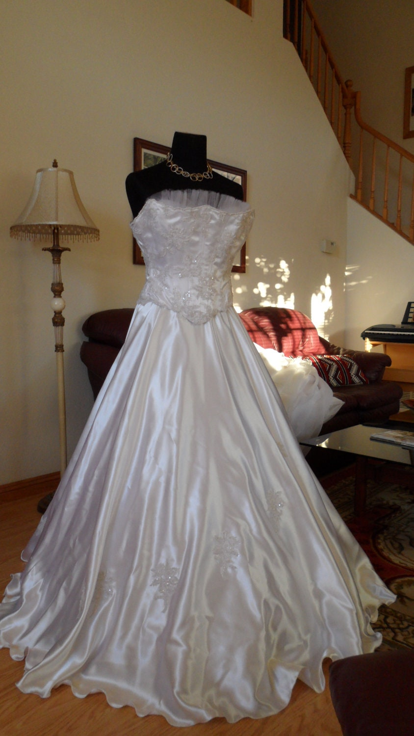 Vintage wedding dress french couture model by mybeddesk on for French couture dresses