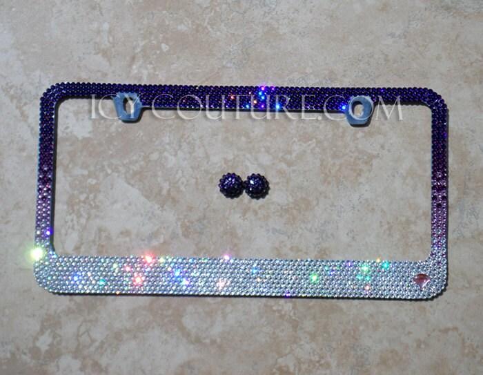 Amazoncom bling license plate frames