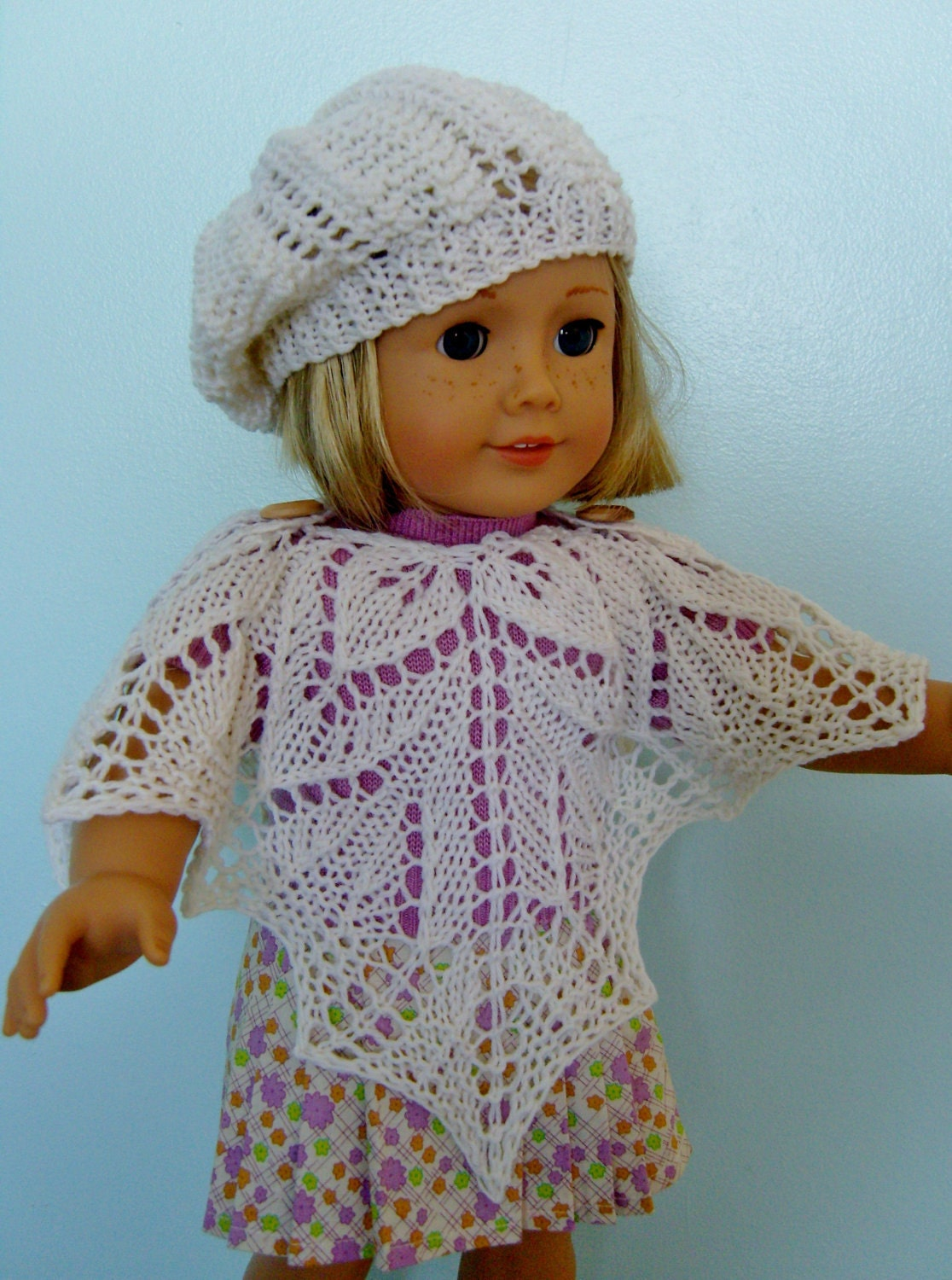 Knitting Pattern For Dolls Poncho : Unavailable Listing on Etsy