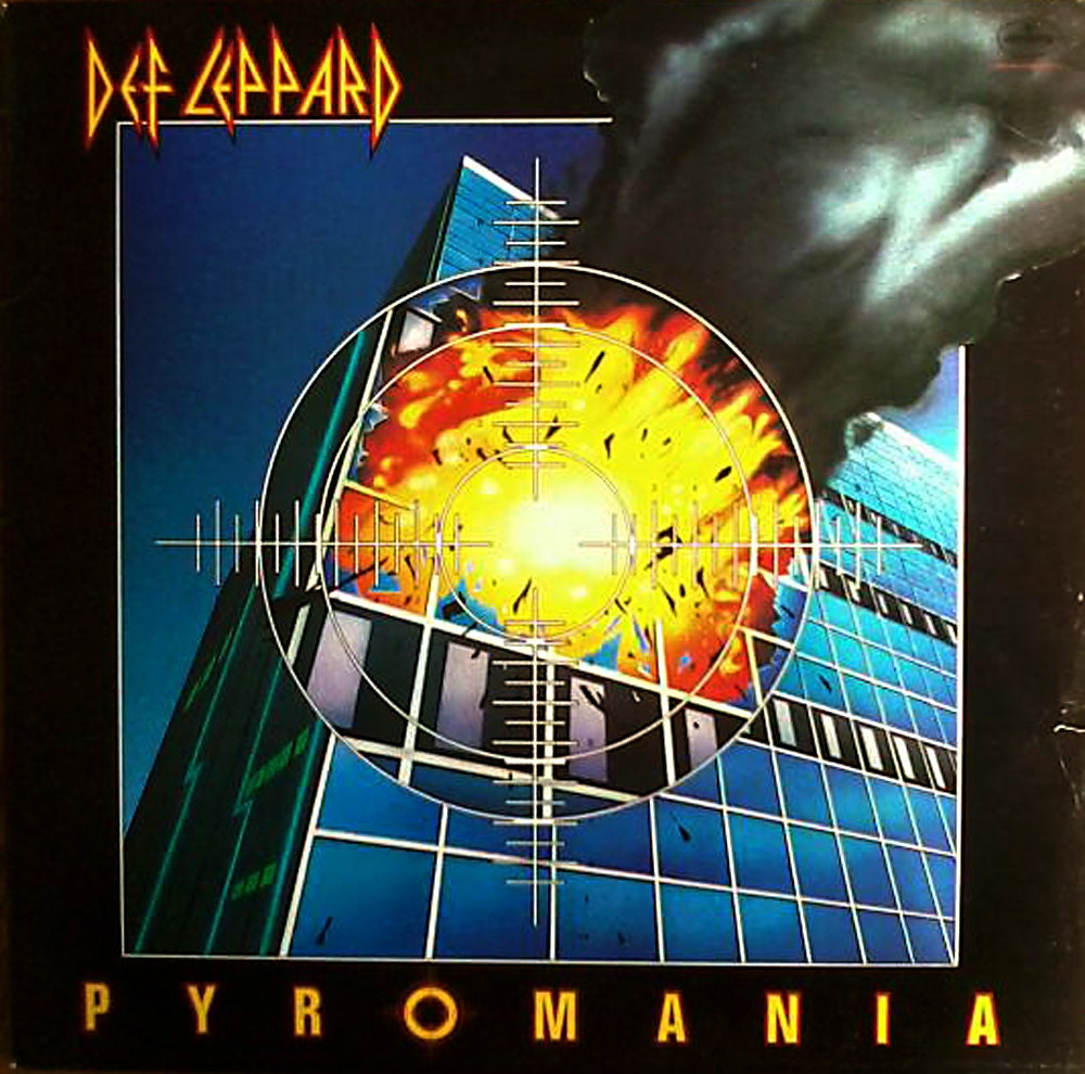 Pyromania By Def Leppard Vinyl Lp By Musicandmuse On Etsy