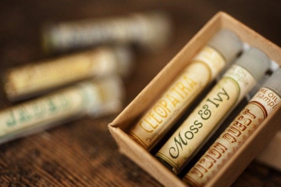 Natural Perfume Oil Samples - Mini Mix-and-Match Set of 3 - For Strange Women - ForStrangeWomen