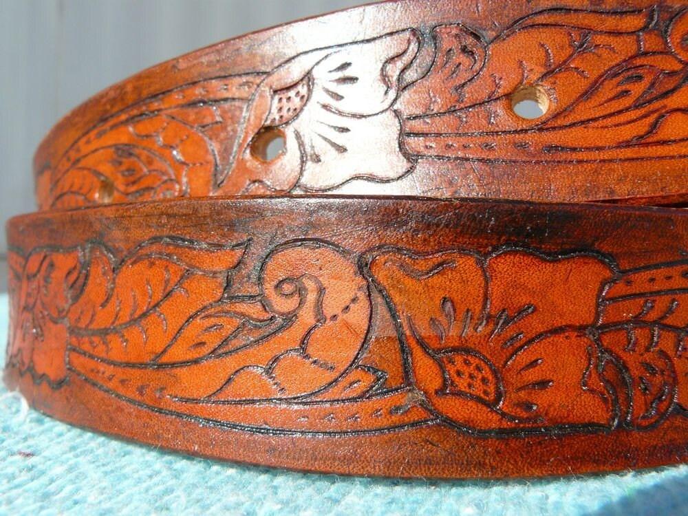Western Belt Dog Collars