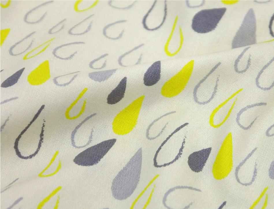 Oxford tela algodón gotas en 2 colores por la yarda