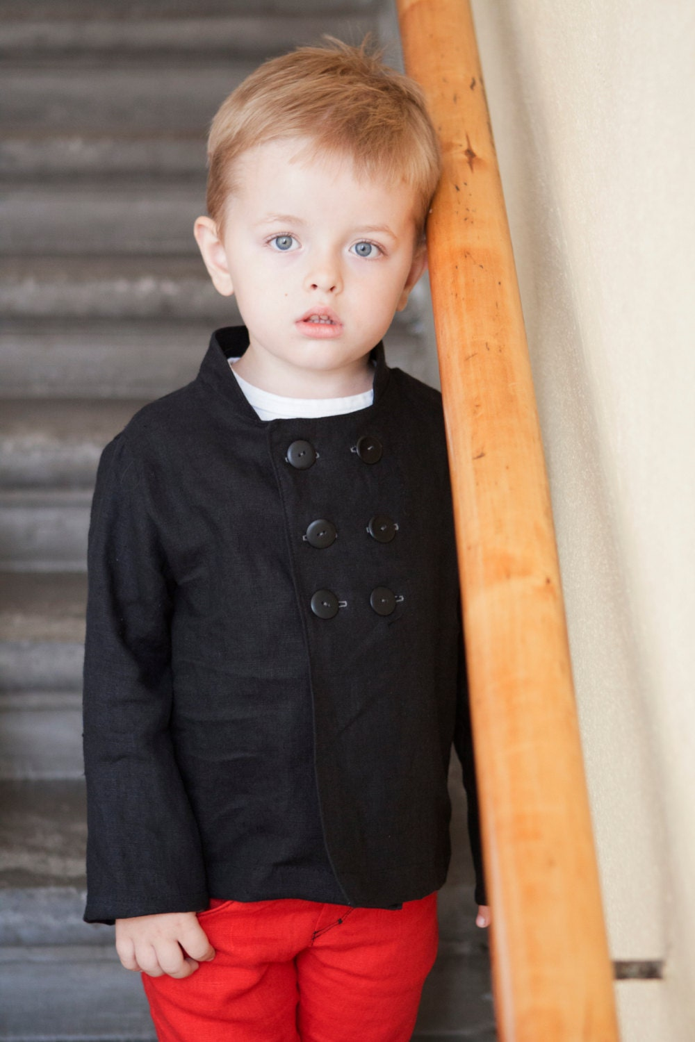 Boys blazer toddler blazer black linen blazer boys jacket boys clothes - yellOkids