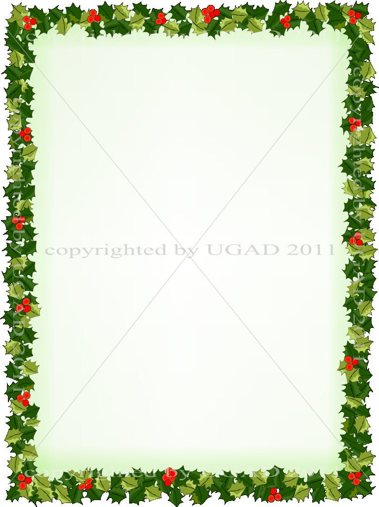 Digital Holiday Holly ...