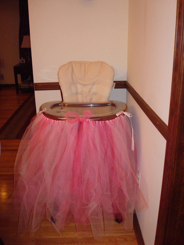 items similar to high chair tulle tutu skirt on etsy