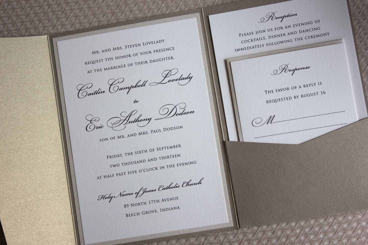 Classy Wedding Invitations as awesome invitations ideas