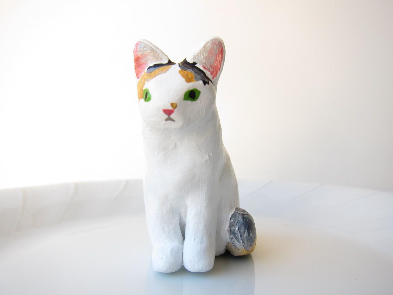 Custom pet ornament - gift - cat dog bird hamster horse - animal lover - pet portrait