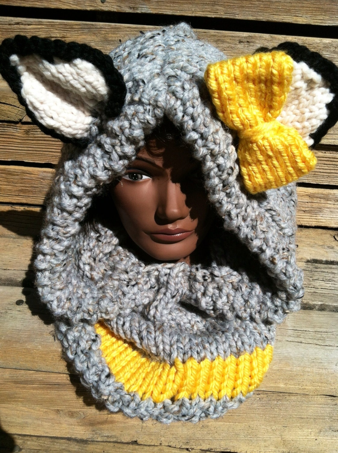 Animal Hoodie Knitting Pattern : Unavailable Listing on Etsy