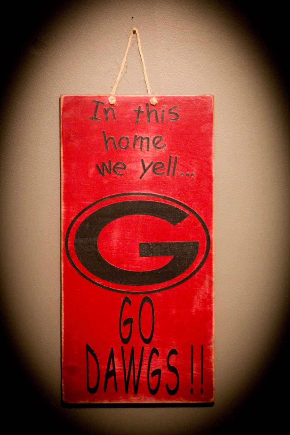 Georgia Bulldog  Sign