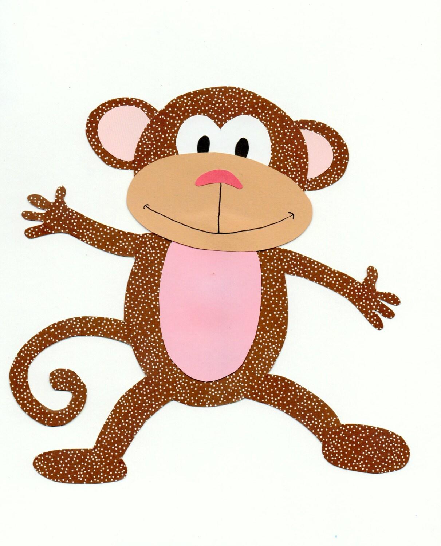 Jungle Animal Safari Animal Monkey Quilt By Forgetmenotbymarie