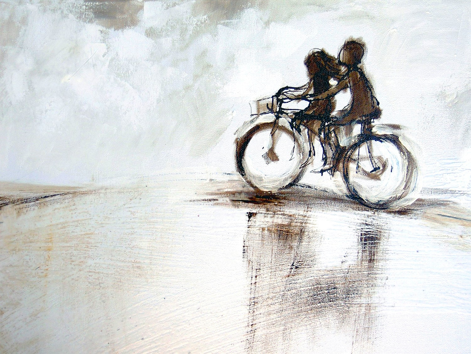Ride with me ART PRINT 018 - AlidaBothmaArt