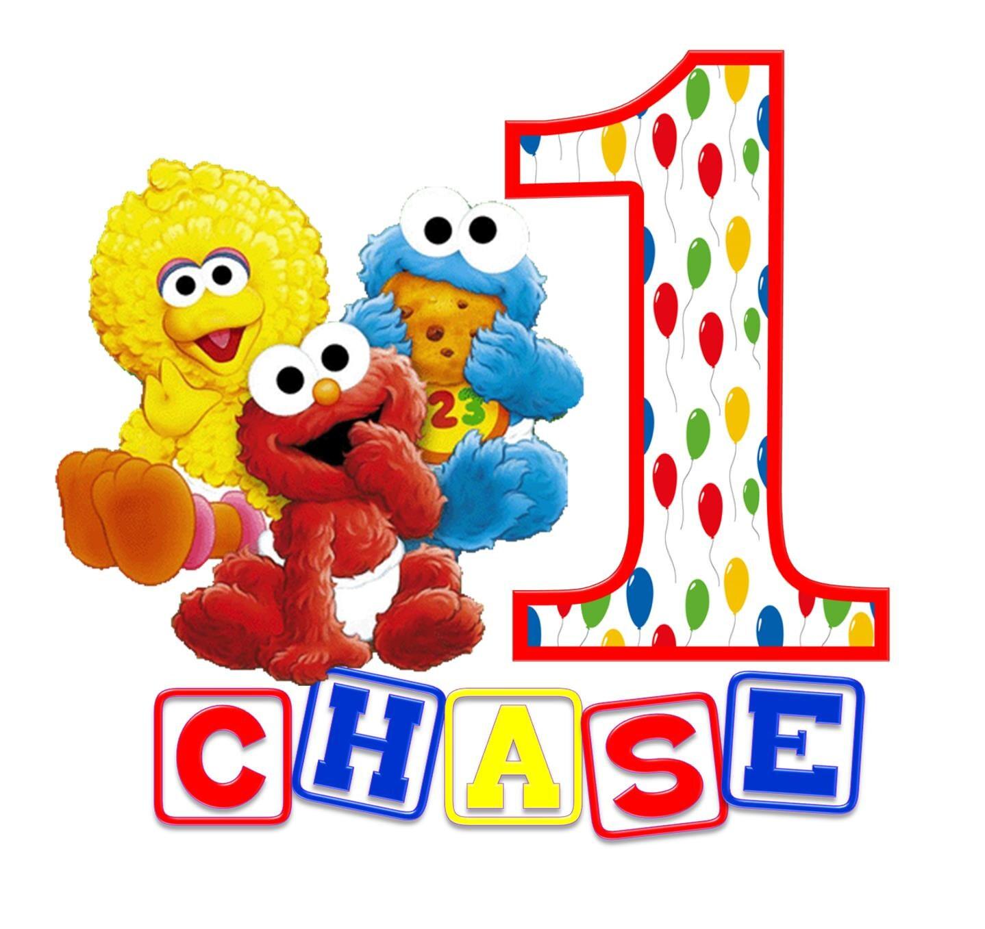Baby Sesame Street Characters Names Sesame Street Birthday...
