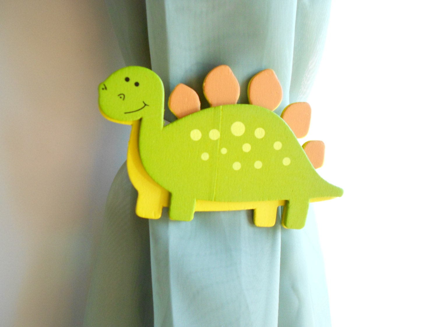 Dinosaur Curtain Tie Backs Dinosaur Nursery By Tonyaandjoshua