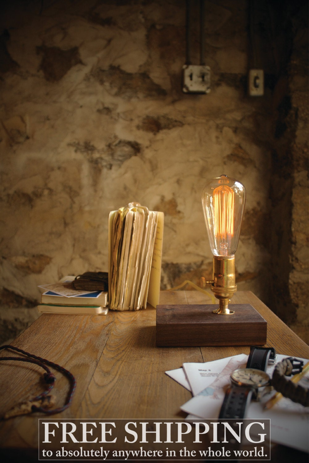 Edison Lamp Table Lamp Desk Lamp Cool Gifts For Men By