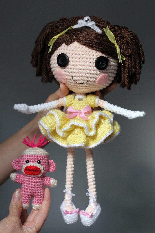 Схеме: Принцесса Laina Amigurumi куклы