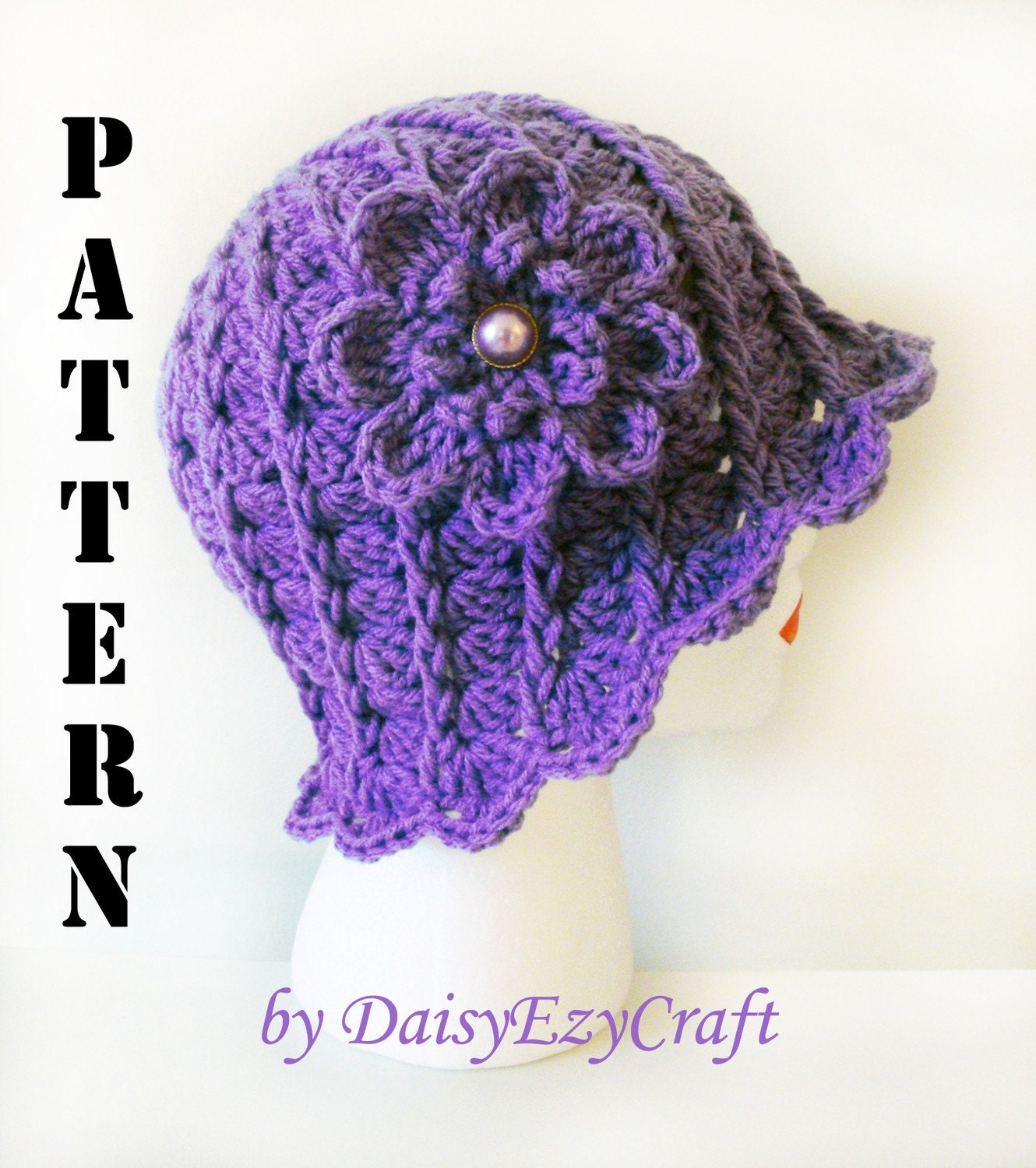 Crochet Hat Patterns Step By Step : Unavailable Listing on Etsy