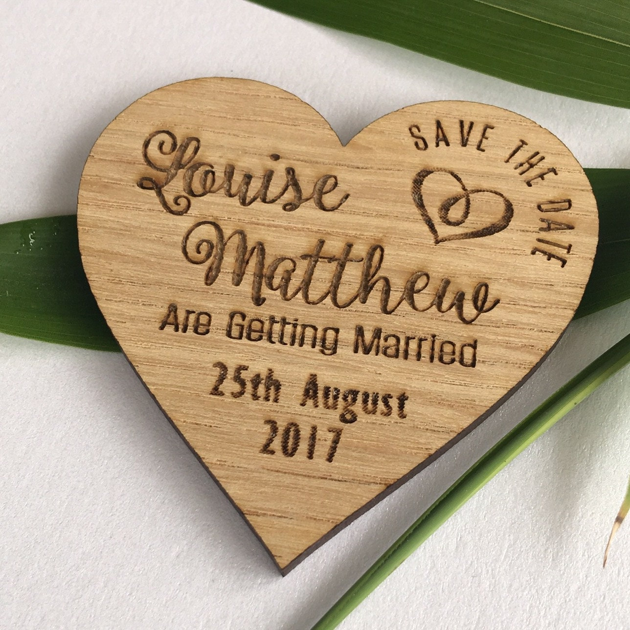 Save the date magnet wooden save the dates wooden wedding magnets S2