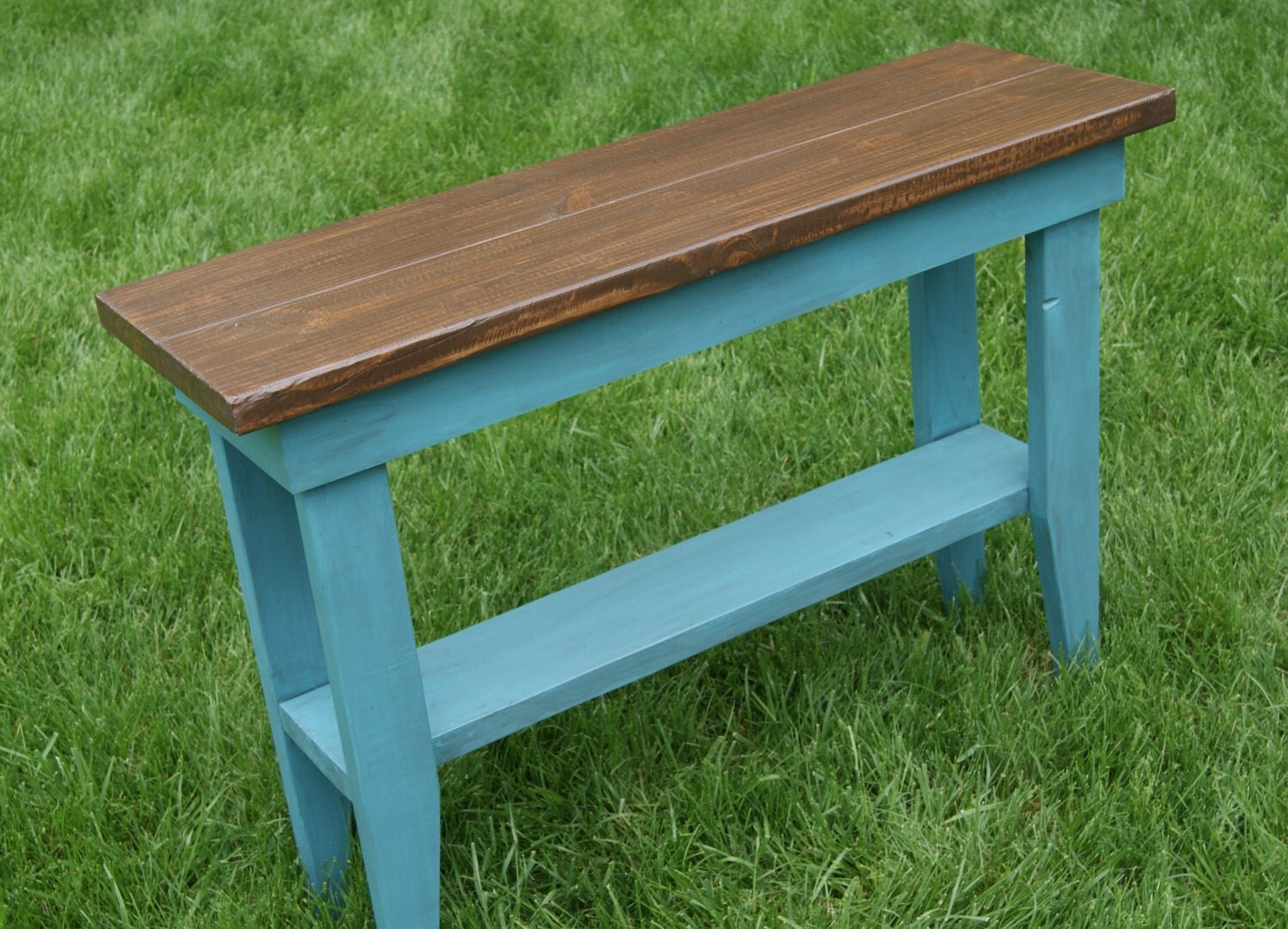 Unavailable listing on etsy for Sofa table for plants