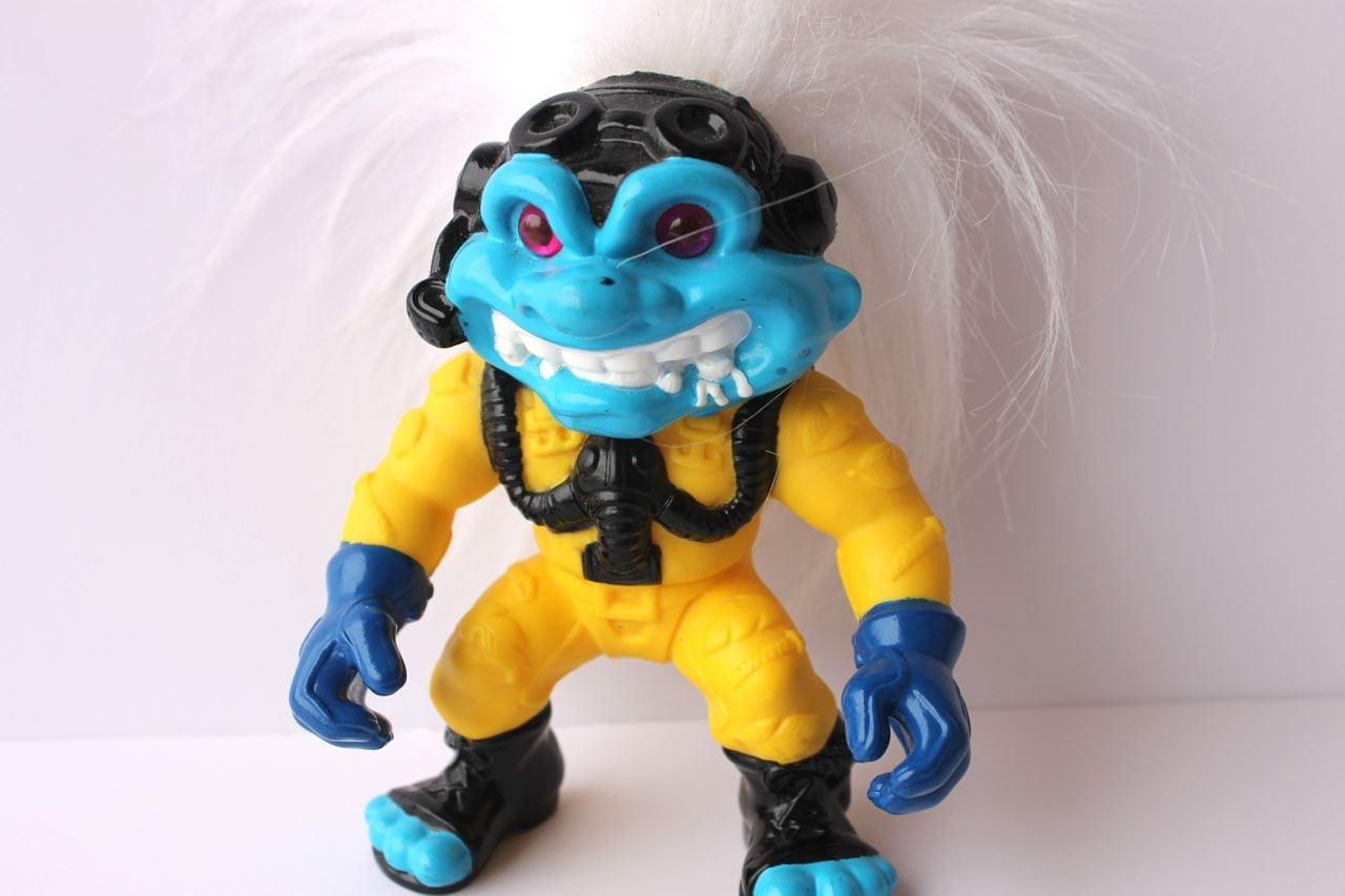 90s Hasbro Battle Troll Ace Troll Toy By Lactoseintolerart