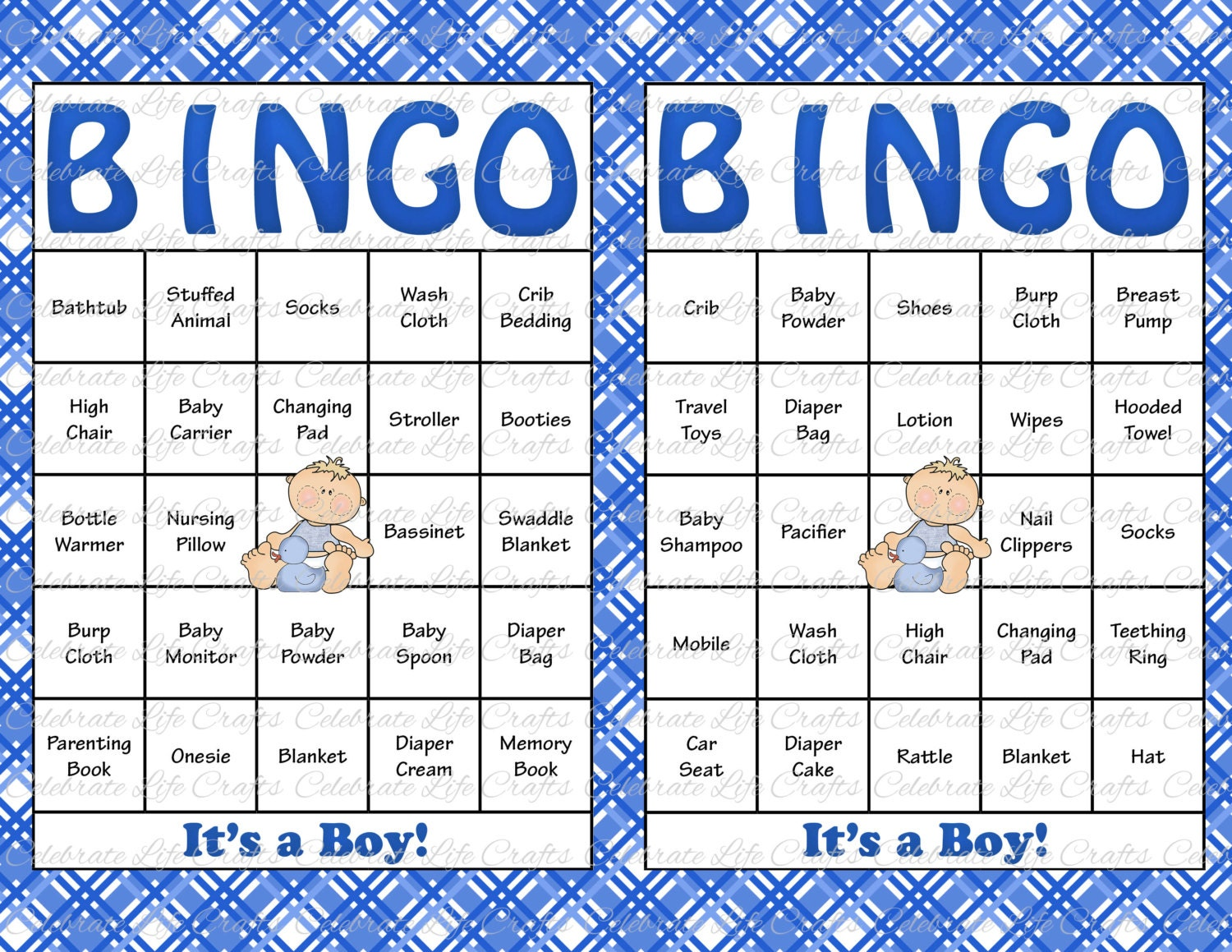 Lively image for free printable baby shower bingo cards for 30 people
