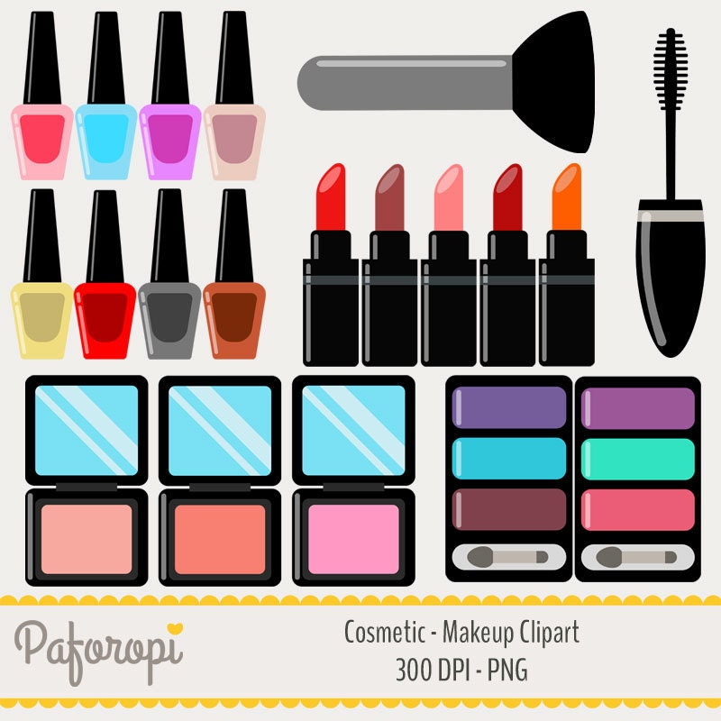 popular items for makeup clipart on etsy