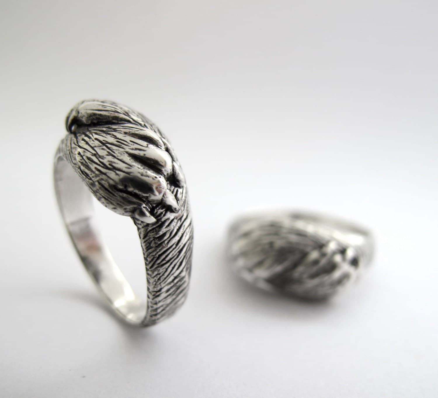paw to paw wedding ring set matching his and by