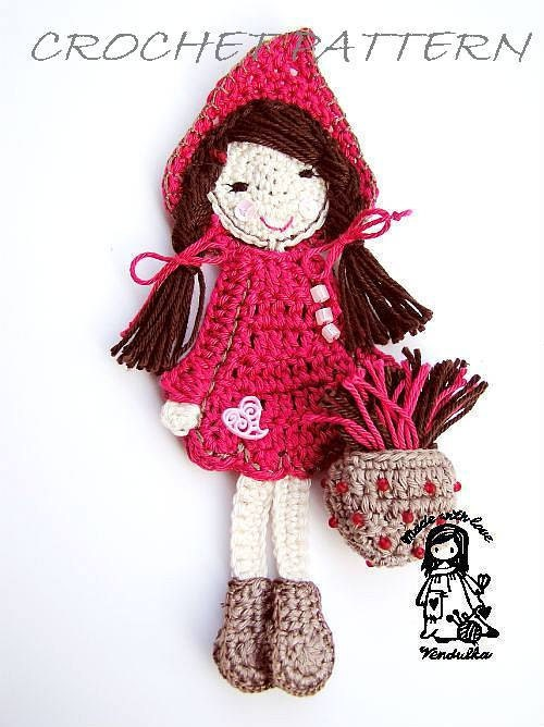 Free Crochet Patterns Red Riding Hood : Unavailable Listing on Etsy