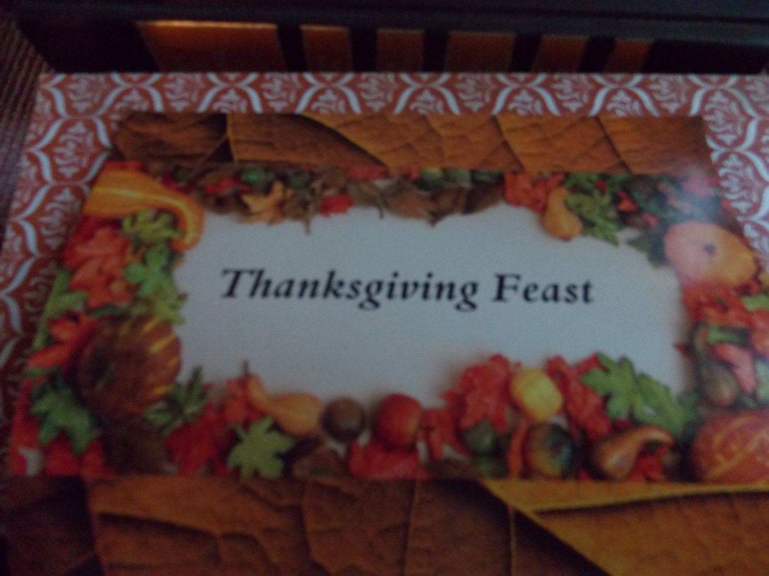 Thanksgiving Feast candy bar wrappers kit ( Candy not included) - BlueSkyeJunction