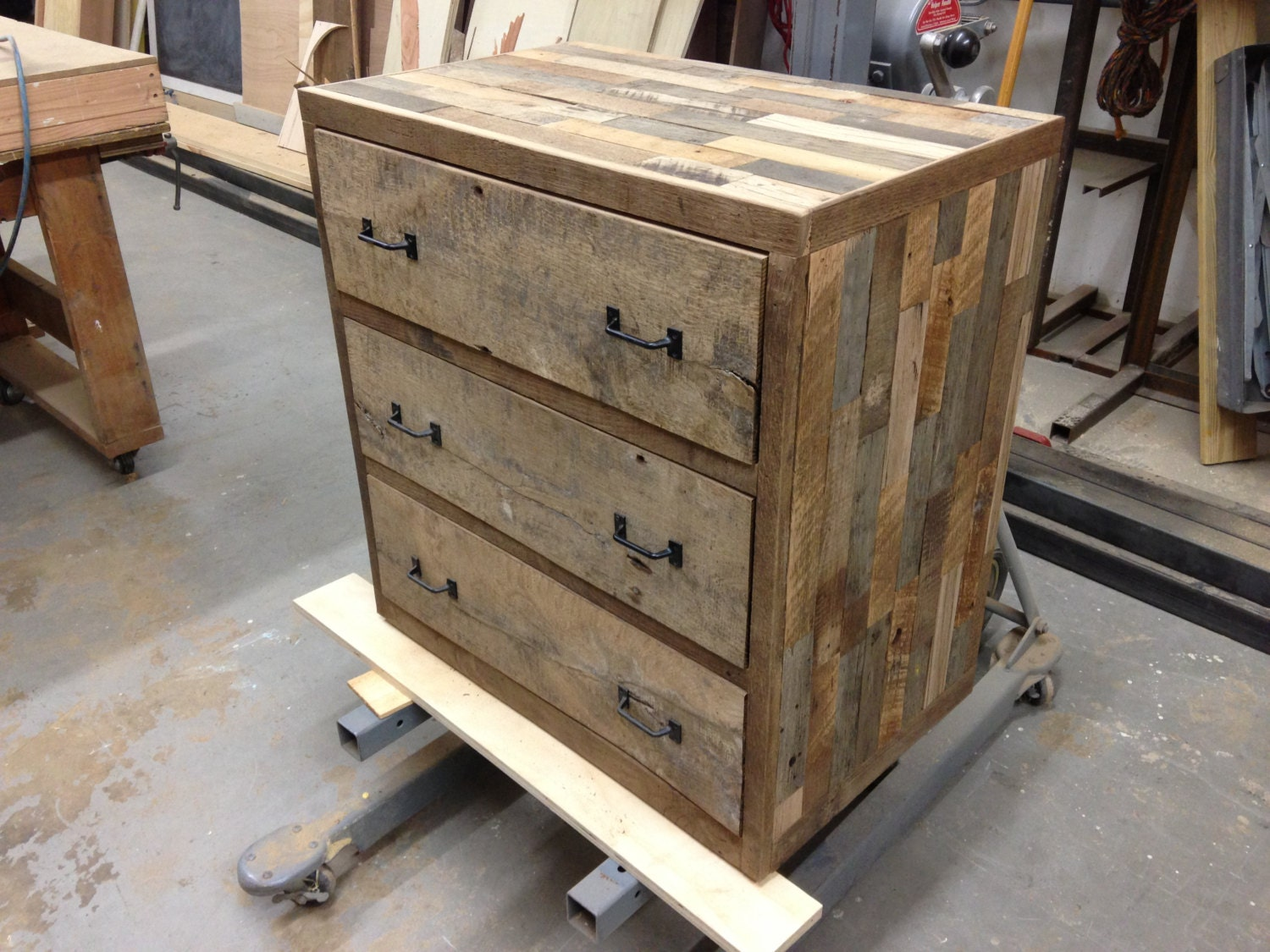 Items Similar To Handcrafted Reclaimed Barn Pallet Wood