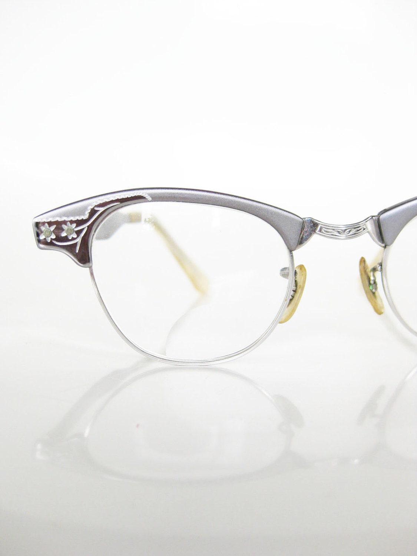 vintage cat eye craft eyeglasses glasses by oliverandalexa