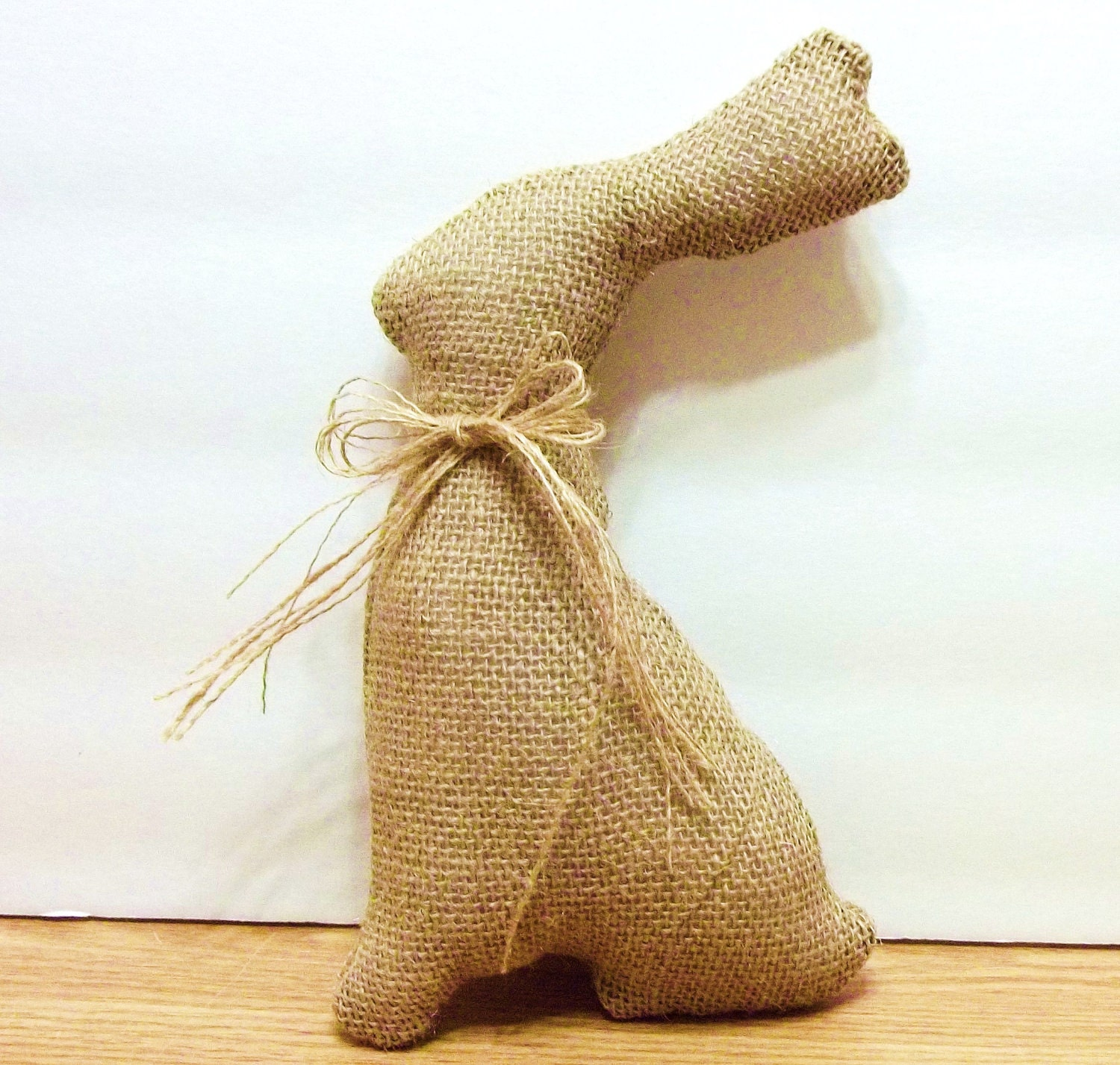 Burlap Bunny Home Decor Easter Spring By Simplejoysdecor On Etsy