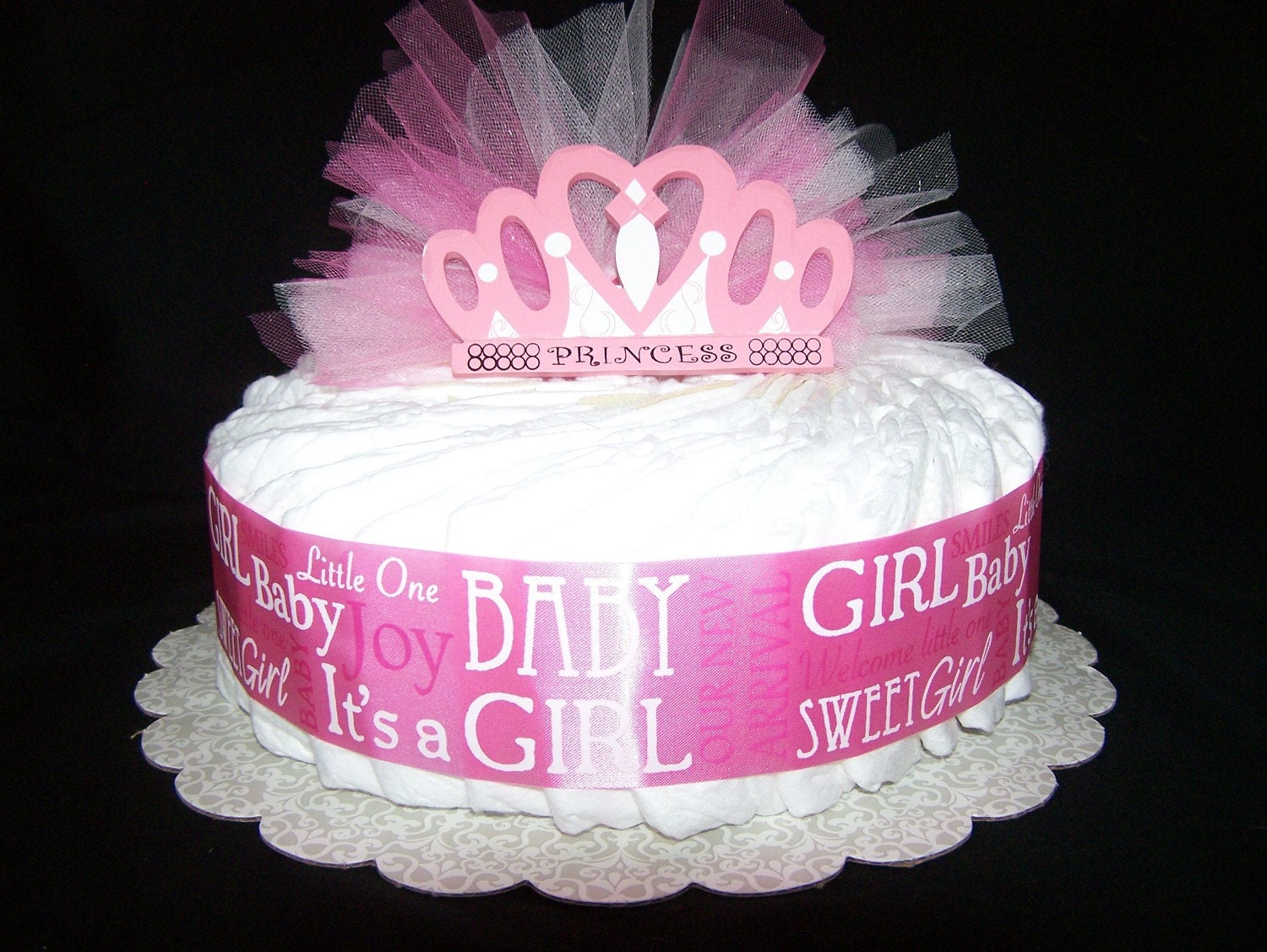 Girl Baby Shower Cake Ideas