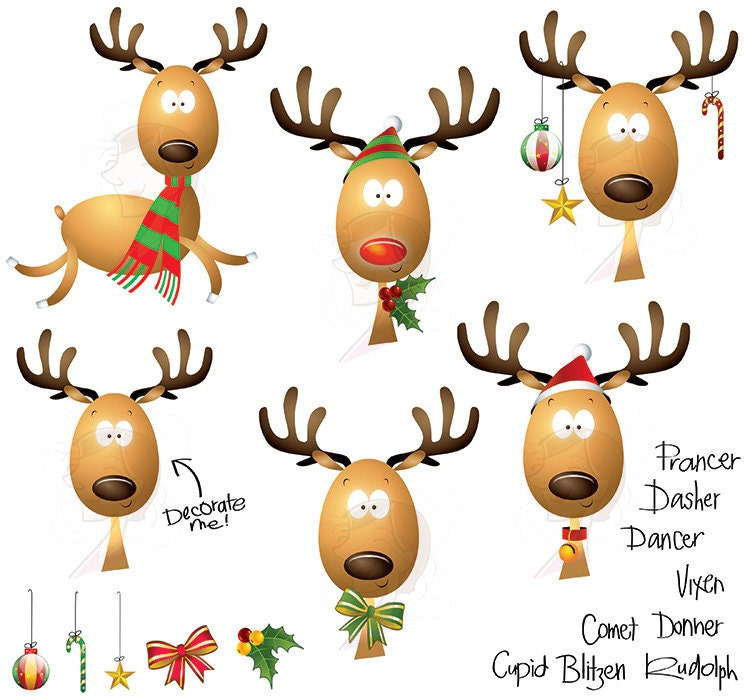Rudolph The Red Nosed Reindeer Face Clipart Rudolph red nose reindeer