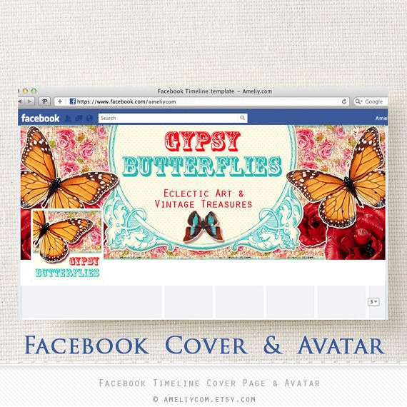 FB Banners Facebook Banner Timeline Cover Page Avatar By