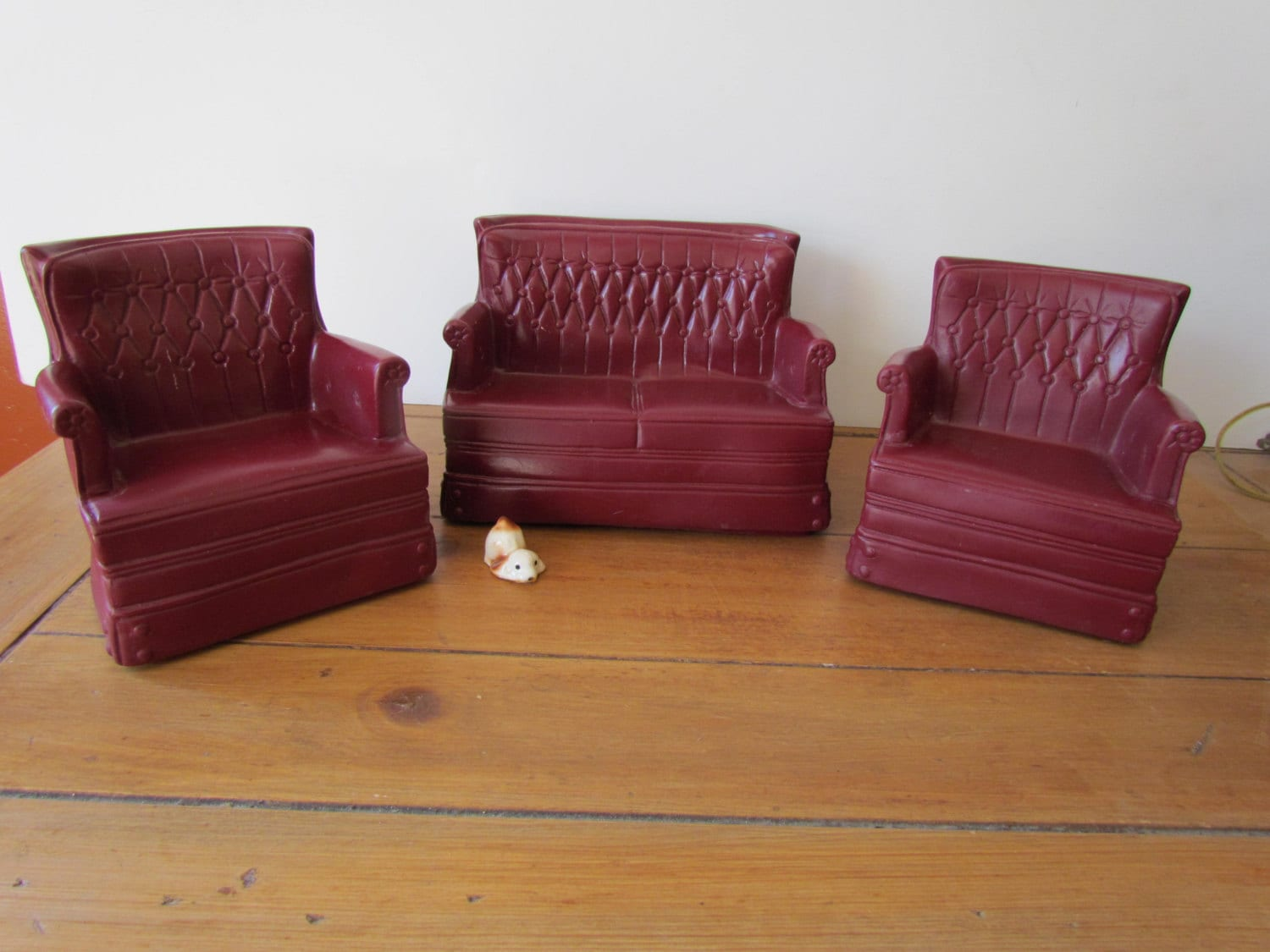 1970s Sindy Doll House Living Room Furniture By Lunchladyvintage