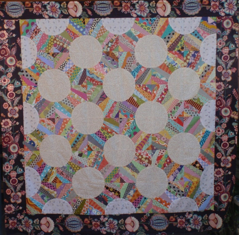 Quilt Patterns Snowball Block : Snowball quilt pattern by PatchworkFun on Etsy